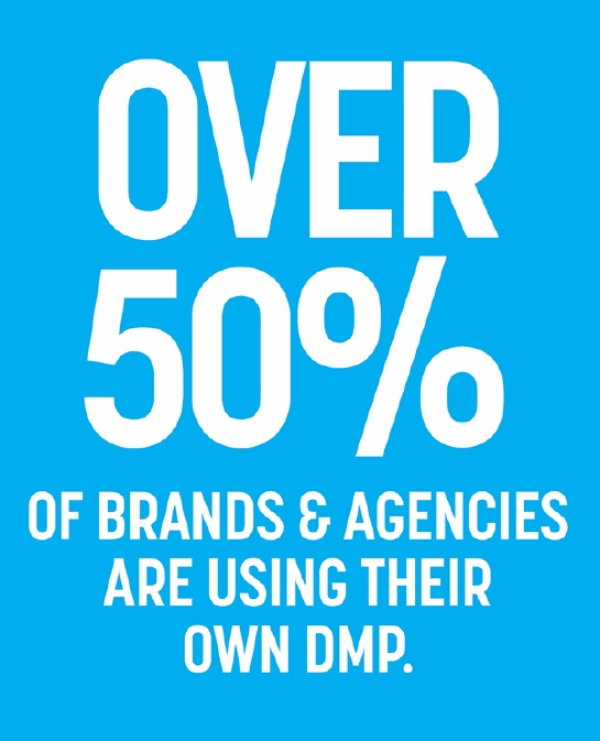 Half of US advertisers and agencies are already using their own DMP in 2015