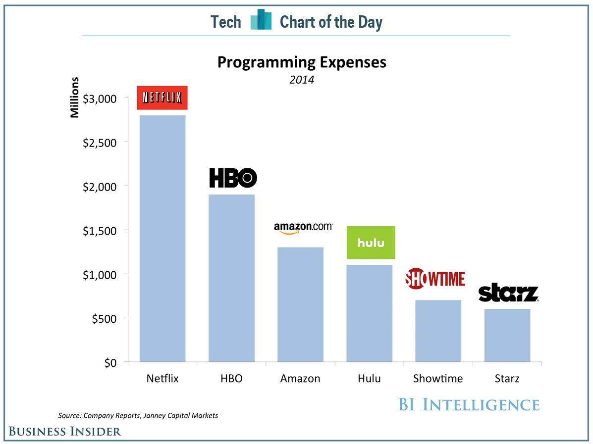 Netflix Programmatic buying investment in 2014